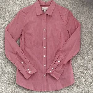 JCrew Stretch Perfect Shirt Sz XS